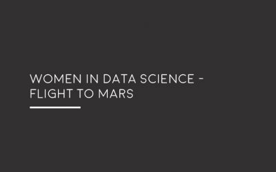 Women in Data Science – Flight to Mars by Dr Adriana Marais