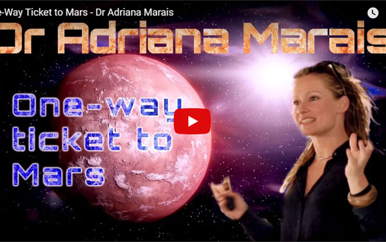 VIDEO: One-way ticket to Mars