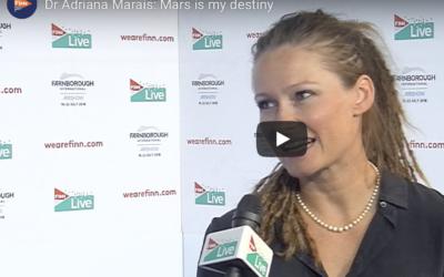Dr Adriana Marais: Mars is my destiny