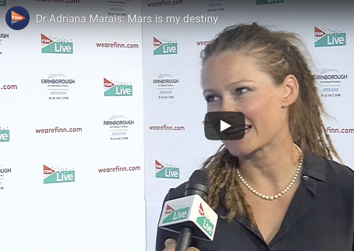 Dr Adriana Marais: Mars is my destiny